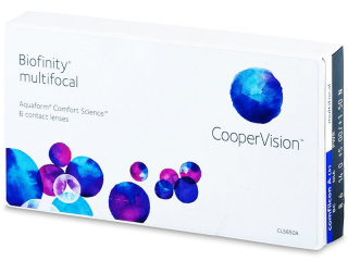Biofinity Multifocal (6linser) - CooperVision