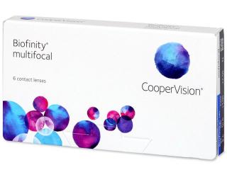 Biofinity Multifocal (6linser)