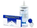 Frequency 55 (6linser) + Laim-Carelinsvätska 400 ml