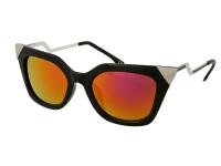 image alt - Alensa solglasögon Kattiga Svart Spegel