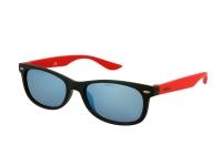 image alt - Alensa solglasögon Sport Svart Röd Spegel för barn