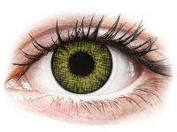 image alt - Gröna Gemstone linser - naturlig effekt - med styrka - Air Optix