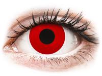 image alt - Röda Devil kontaktlinser - med styrka - ColourVUE Crazy