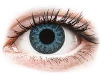 image alt - Blåa Solar kontaktlinser - ColourVue Crazy