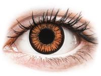image alt - Orange Twilight kontaktlinser - med styrka - ColourVUE Crazy