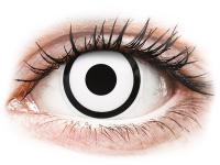 image alt - Vita Zombie kontaktlinser - med styrka - ColourVUE Crazy