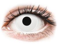 image alt - Vita WhiteOut kontaktlinser - med styrka - ColourVUE Crazy