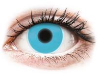 image alt - Blåa Glow kontaktlinser - ColourVUE Crazy