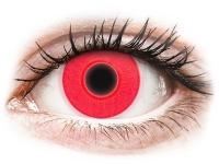 image alt - Röda Glow kontaktlinser - ColourVUE Crazy