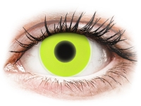 image alt - Gula Glow kontaktlinser - ColourVUE Crazy