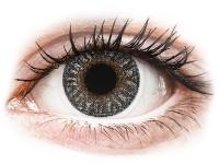 image alt - Gråa kontaktlinser - med styrka - TopVue Color
