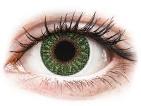 image alt - Gröna kontaktlinser - med styrka - TopVue Color