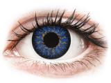 image alt - Blå Glamour kontaktlinser - ColourVUE