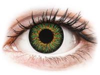 image alt - Gröna Glamour linser - med styrka - ColourVUE