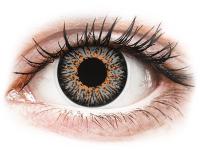 image alt - Gråa Glamour kontaktlinser - med styrka - ColourVUE