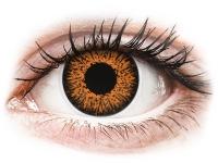 image alt - Honung kontaktlinser - med styrka - ColourVUE