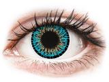 image alt - Blåa Elegance kontaktlinser - ColourVUE