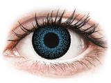 image alt - Blåa Eyelush kontaktlinser - med styrka - ColourVUE