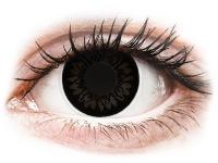 image alt - Svarta BigEyes kontaktlinser - med styrka - ColourVUE