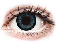 image alt - Cool Blåa linser - med styrka - ColourVUE BigEyes