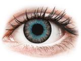image alt - Blå Gråa Fusion kontaktlinser - ColourVUE