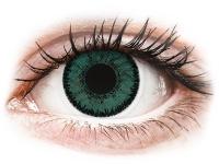 image alt - Gröna Jade linser - SofLens Natural Colors - med styrka