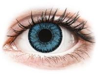 image alt - Blåa Pacific linser - SofLens Natural Colors - med styrka