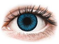 image alt - Blåa Topaz linser - SofLens Natural Colors - med styrka