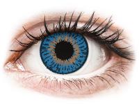 image alt - Mörkblåa kontaktlinser - Expressions Colors - Med styrka