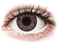 image alt - Lila Amethyst linser - FreshLook ColorBlends - Med styrka