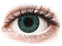 image alt - Blåa Brilliant linser - FreshLook ColorBlends - Med styrka