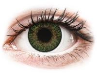 image alt - Gröna Gemstone linser - FreshLook ColorBlends - Med styrka