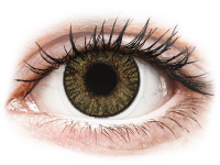 image alt - Bruna Hazel linser - FreshLook ColorBlends - Med styrka