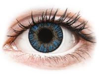 image alt - Blåa True Sapphire linser - FreshLook ColorBlends - Med styrka