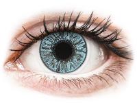 image alt - Blåa kontaktlinser - FreshLook Colors - Med styrka