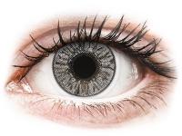 image alt - Gråa Misty linser - FreshLook Colors - Med styrka