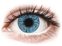 image alt - Blåa Sapphire linser - FreshLook Colors - Med styrka