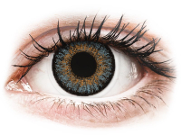 image alt - Blåa kontaktlinser - FreshLook One Day Color - Med styrka