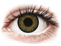 image alt - Gröna kontaktlinser - FreshLook One Day Color - Med styrka
