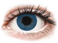 image alt - Blåa Pacific linser - FreshLook Dimensions - Med styrka