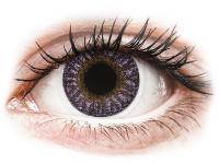image alt - Lila kontaktlinser - med styrka - TopVue Color