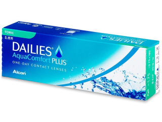 Dailies AquaComfort Plus Toric (30 linser) - Alcon