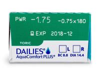 Dailies AquaComfort Plus Toric (30linser)
