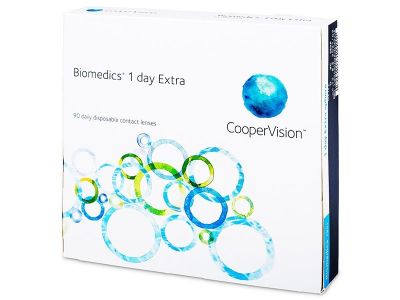 Biomedics 1 Day Extra (90linser)