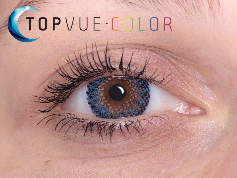 True Sapphire på bruna ögon