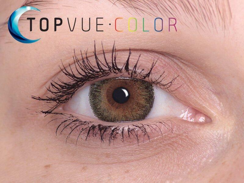 Grön på bruna ögon