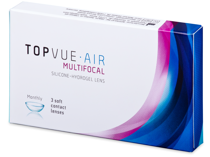TopVue Air Multifocal (3 linser)