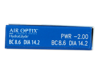 Air Optix plus HydraGlyde (6 linser)