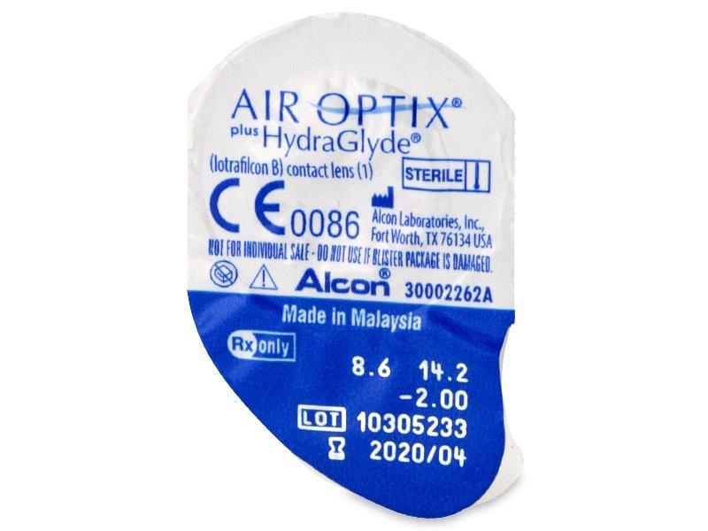 Air Optix plus HydraGlyde (6 linser)