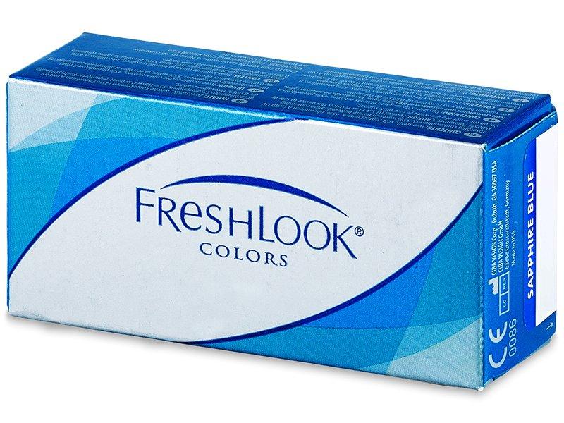 FreshLook Colors - med styrka (2 linser)